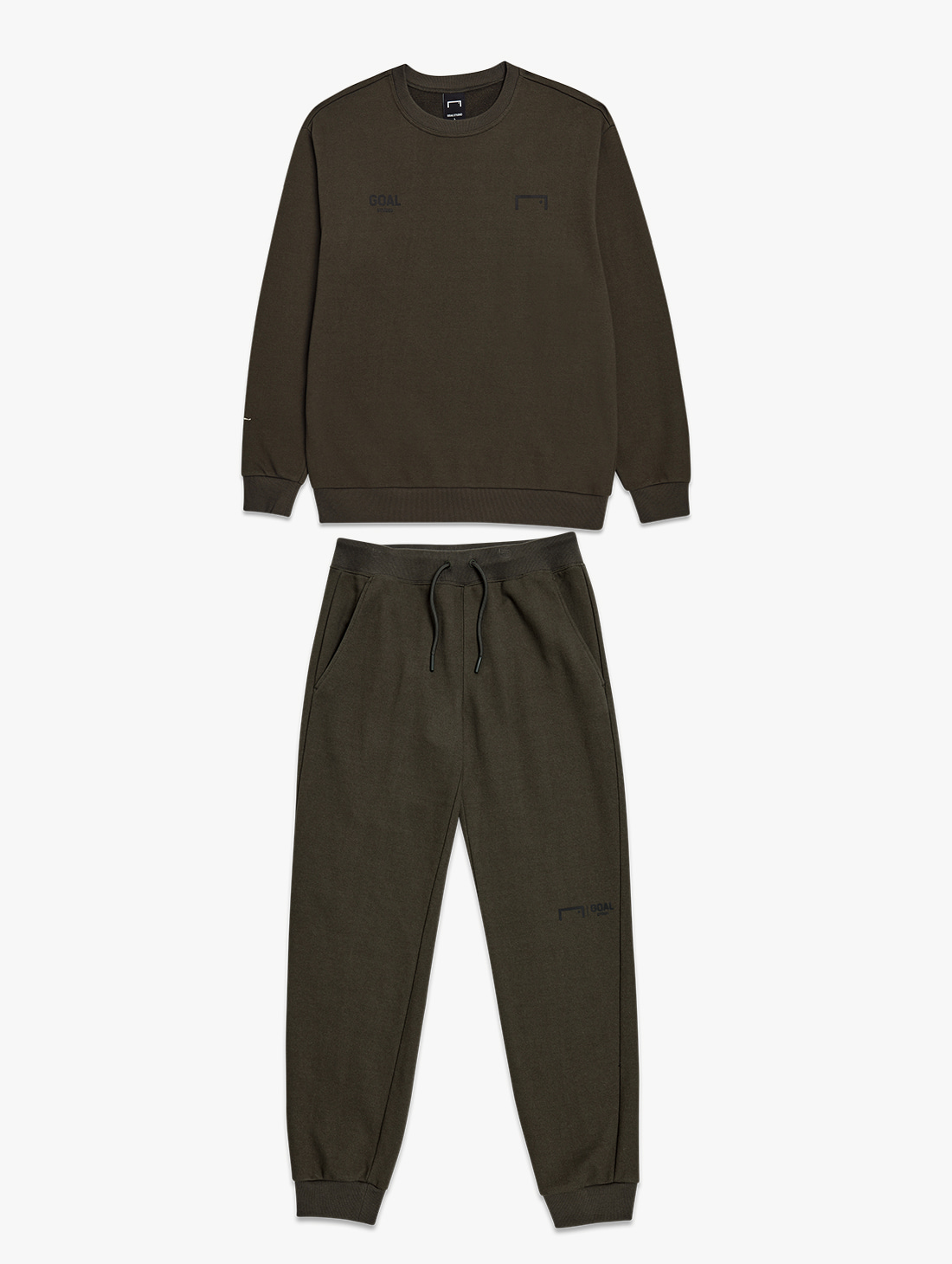 [10% OFF] SIGNATURE LOGO SWEATSHIRT & GOAL KNIT JOGGER PANTS 2.0 SET