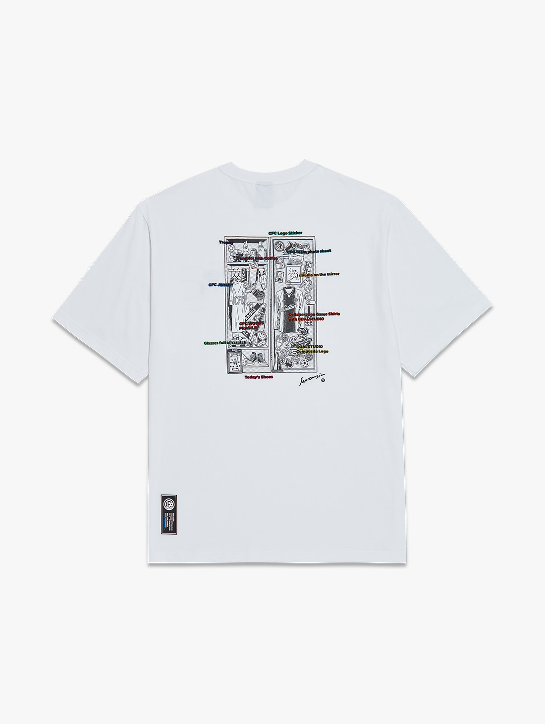 CFC LOCKER ROOM TEE