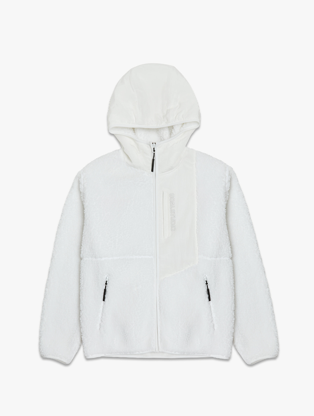 SHERPA FLEECE HOODED JACKET (2 Colors)