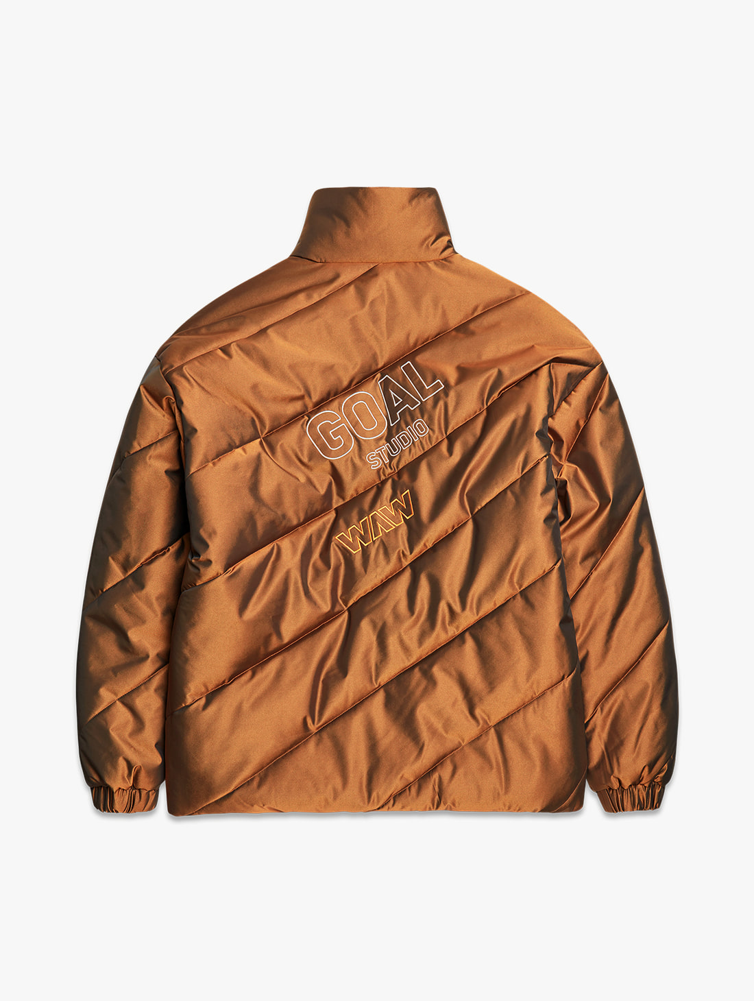 [PRE-ORDER 10% OFF] WWFC DIAGONAL TWO TONE PADDED JACKET