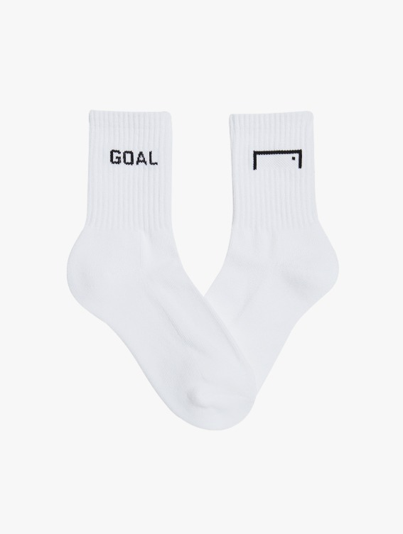 CREW SOCKS 3 PACK - WHITE