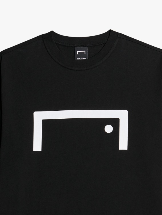 SIGNATURE LOGO TEE - BLACK