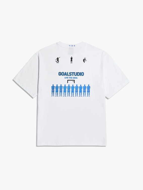 FREE KICK CAPSULE DEFENSIVE WALL TEE - WHITE