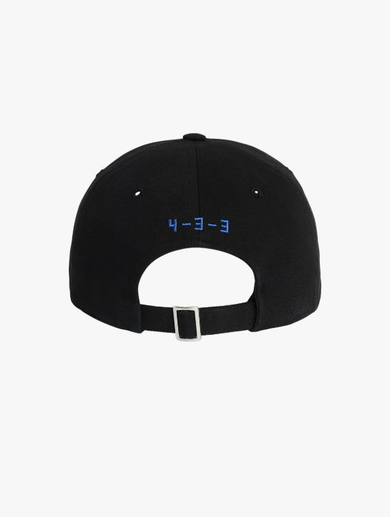 FREE KICK CAPSULE ARTWORK BALL CAP - BLACK